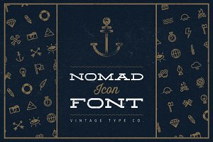 Nomad Icon Font ($3 OFF)