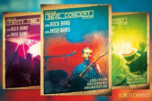 Indie Concert Flyer