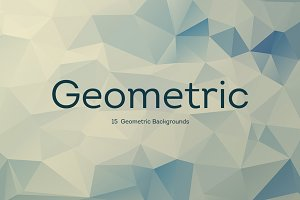 15 Geometric Backgrounds v2