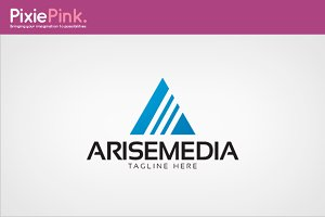 Arise Media Logo Template