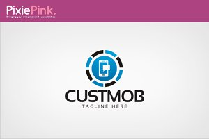 Custmob Logo Template