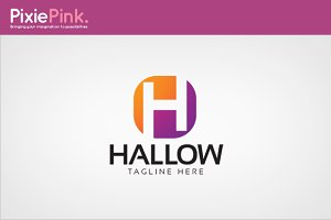 Hallow Logo Template