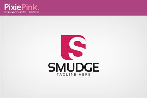 Smudge Logo Template