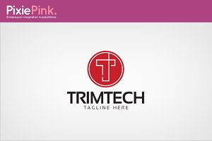 Trim Tech Logo Template