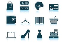 Set of Shopping Icon