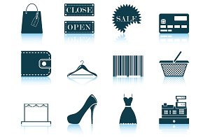 Set of Shopping Icon