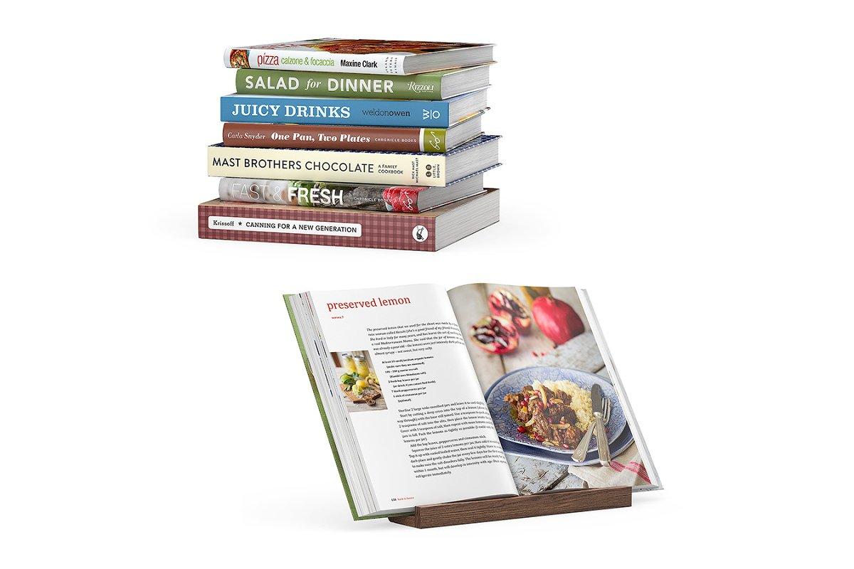 Kitchen books 3d model
