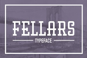 Fellars Typeface