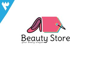 Beauty Store Logo