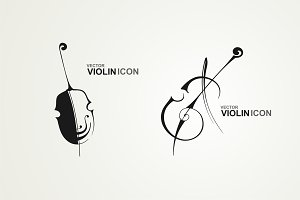 Logo violin