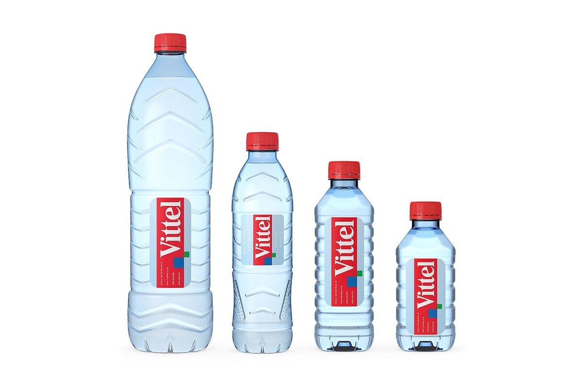 Vittel water 3d model