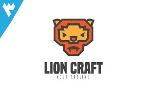 Lion Paper Craft Logo