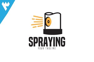 Spraying Logo