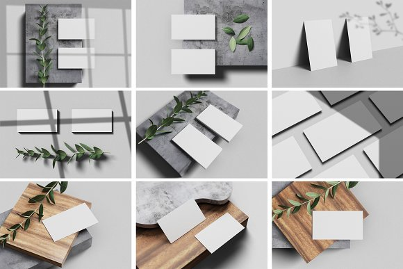Minimal Business Card Mockup in Branding Mockups - product preview 8