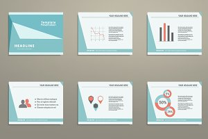 Vector template presentation