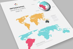 Infographic World Map Templates
