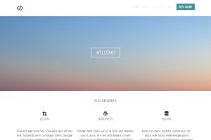 Starter - Simple Bootstrap Template