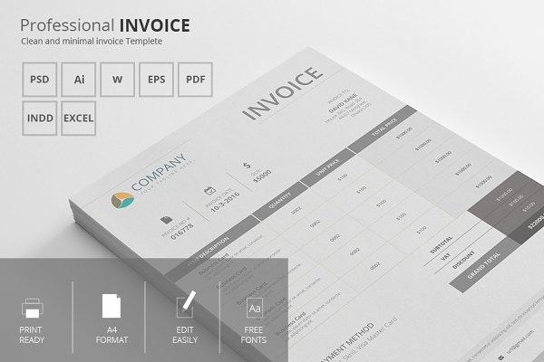 Search Invoice Creative Market