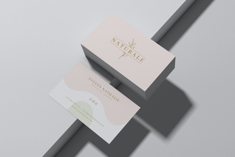 Feminine Business Card Vol. 10