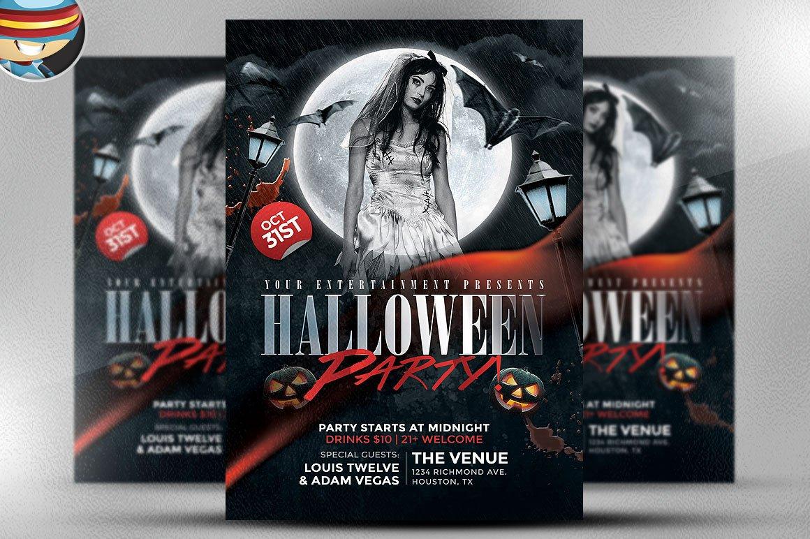 Flyer Heroes (FlyerHeroes) ~ Halloween Flyer Templates Collection ...