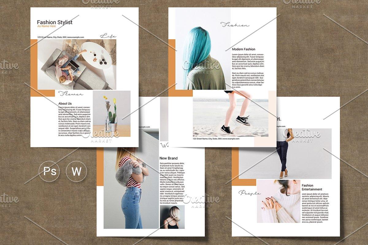 Fashion Media Kit Flyer - V05