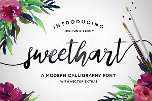 Sweethart Script + Vectors