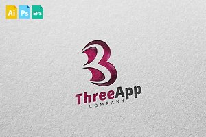 ThreeApp Logo