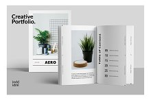 AERO - Minimal Brochure by  in Brochures