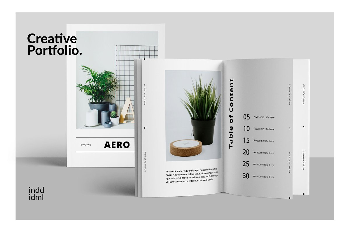 AERO - Minimal Brochure