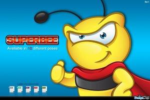Super Bee Character - Set 1