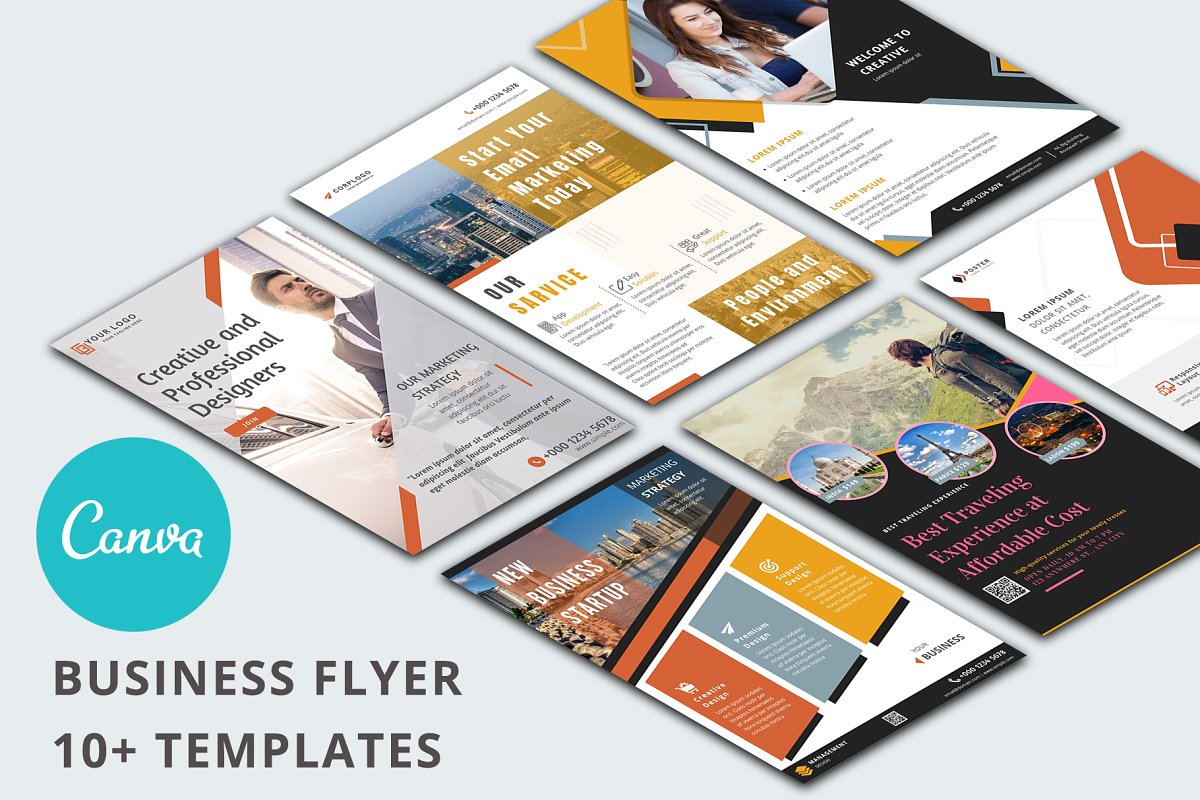 Canva Business Flyer Templates