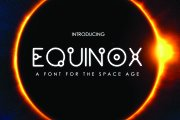 EQUINOX - A Font for the Space Age