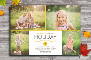 Holiday Mini Session Marketing Board