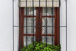 wooden window frigiliana