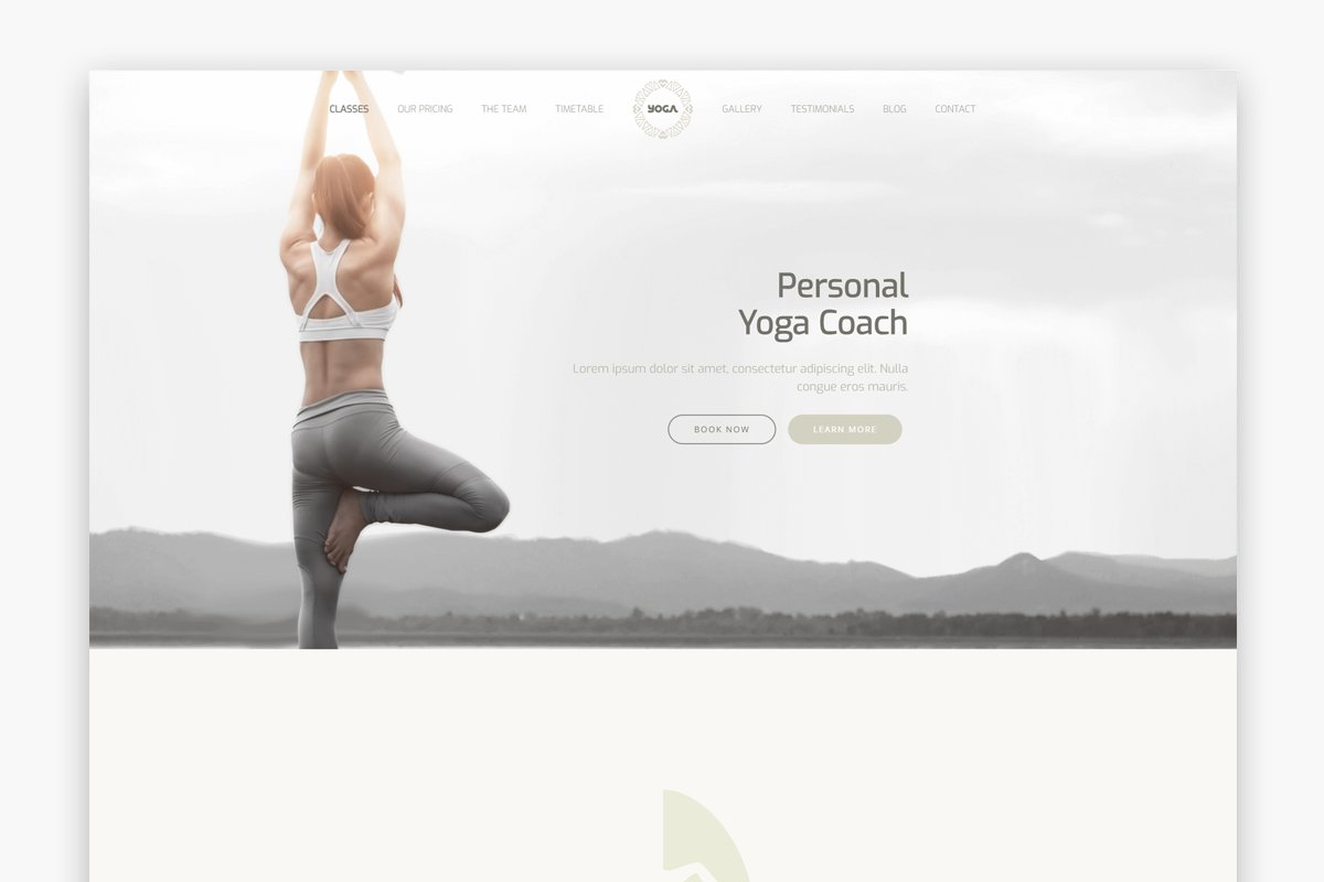 The Yoga - Yoga WordPress Theme