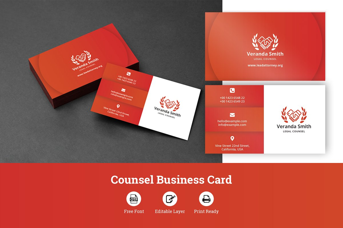 Counsel Business Card