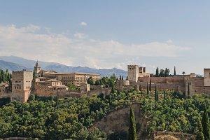 Spain. Alhambra of Granada