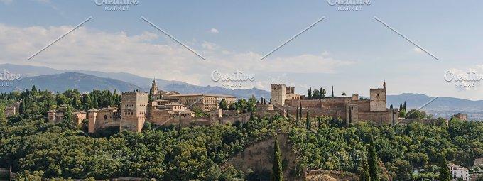 Spain. Alhambra of Granada - Architecture