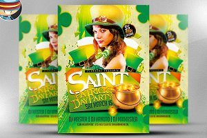 St. Paddy's Day Party Flyer Template