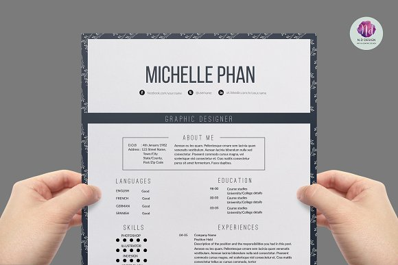 elegant resume template resumes