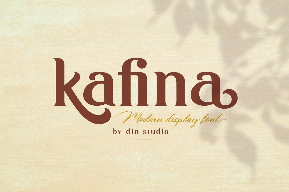 Kafina Modern Serif