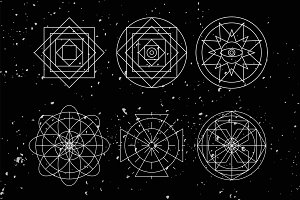 Sacred Geometry shapes