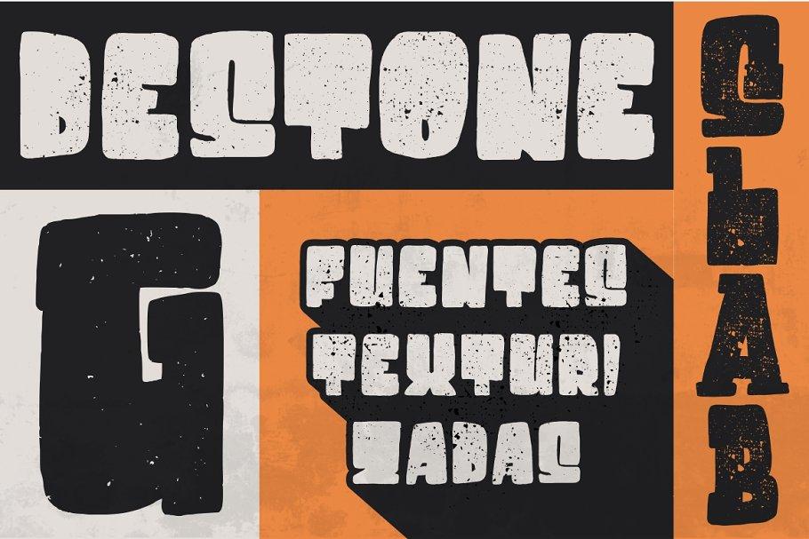 Destone - 2 Styled Font