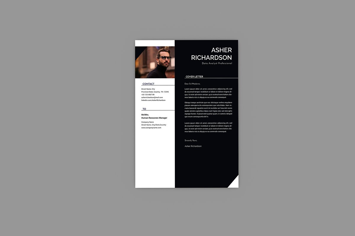 CV Commit Resume Designer in Resume Templates - product preview 1