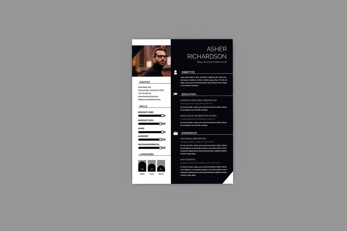 CV Commit Resume Designer in Resume Templates - product preview 2