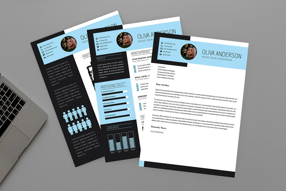 Intrust CV Resume Designer in Resume Templates - product preview 8