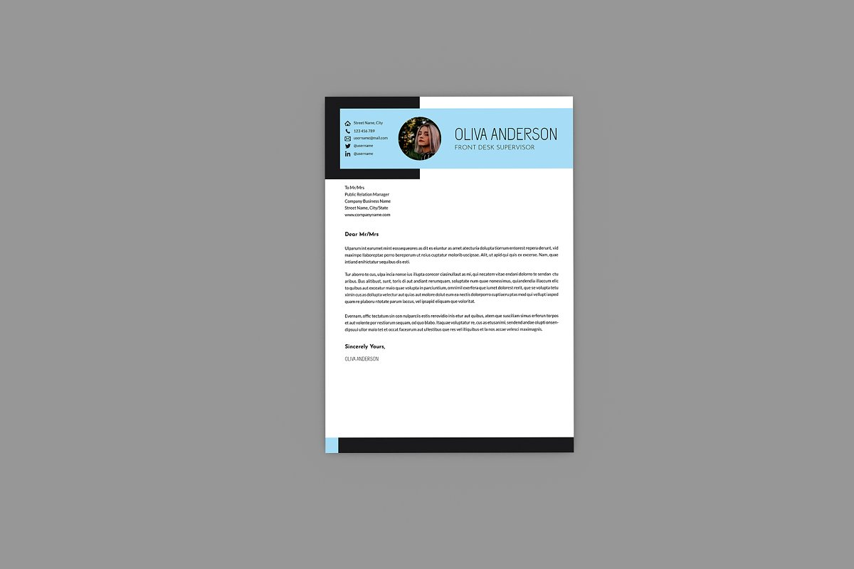 Intrust CV Resume Designer in Resume Templates - product preview 1