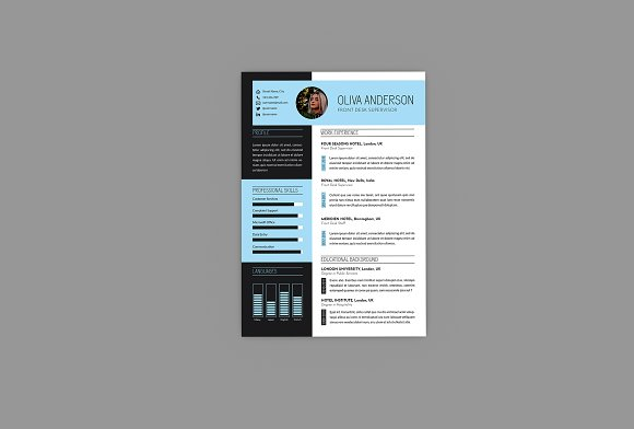 Intrust CV Resume Designer in Resume Templates - product preview 2