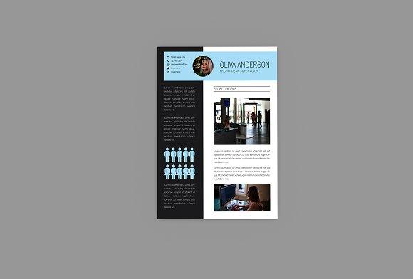 Intrust CV Resume Designer in Resume Templates - product preview 3