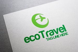 Eco Travel Logo Template